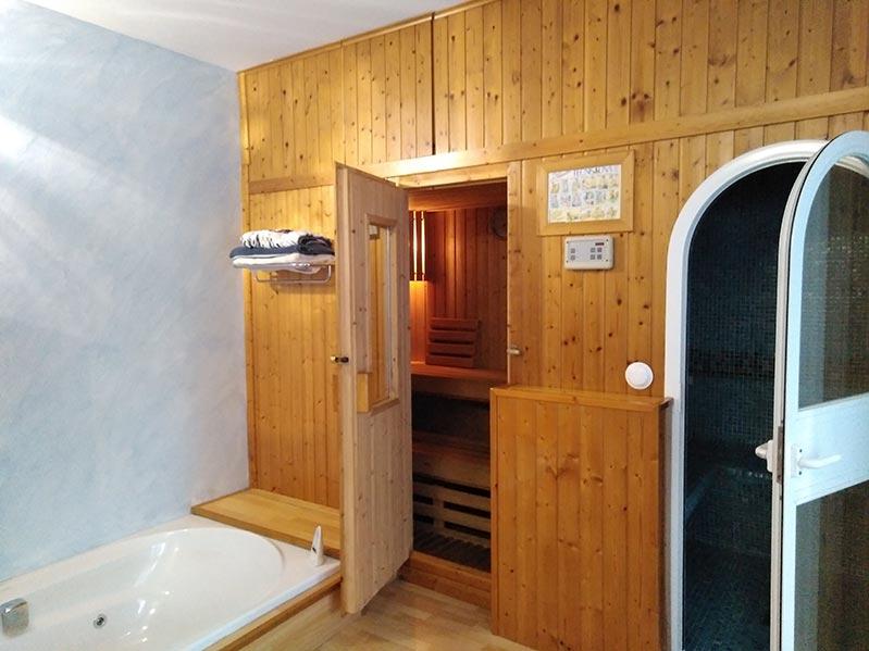 Spa con jacuzzi ba o turco y sauna casa zabaletxe chalet en alquiler junto al mar en bizkaia - Sauna finlandesa o bano turco ...